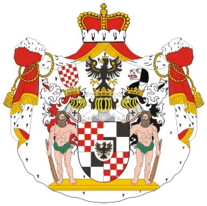 Coat of arms of Duchess of Liegnitz and Countess of Hohenzollern